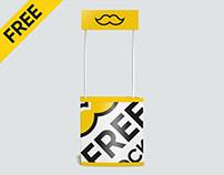 Free Promo Stand Mockup PSD