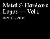 Metal & Hardcore—Logos