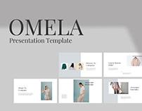 OMELA - FREE MINIMAL PRESENTATION TEMPLATE