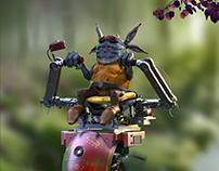 Goblin Racer - Zbrush