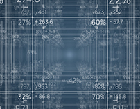 Grid Matrix of Numbers