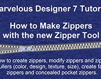 Marvelous Designer Zipper Tool Tutorial