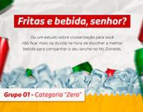 Infográfico sobre bebidas