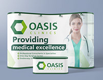 Roll up Oasis Clinics