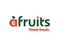 """""""AFRUITS"""" logotipo atnaujinimas"""