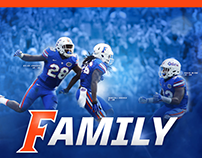 Florida Gator Football Graphics