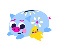 Google Allo - Stickers - Amorcito & Bebe