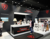 Exhibition Stand for Firestone @ Bau 2015