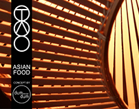 TAO - Asian Restaurant by dumdum design