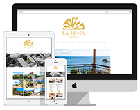 La Luna Hotel: Logo & Website