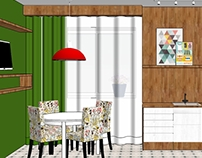 Дизайн кухни  /  Частный дом в Нижнем Новгороде