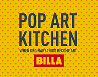Billa Pop Art Kitchen
