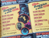 Ska, Reggae & Soul Festival poster/flyer