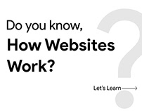 How Websites Work?