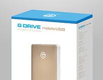 G-DRIVE mobile USB-C Packaging for apple store