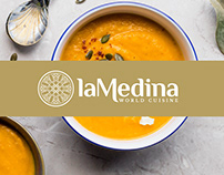 Designing of laMedina logo