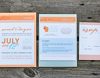 The Shudas Wedding Stationery Suite & Website