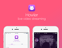Live Video Streaming IOS App Design