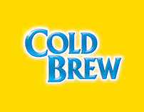 Lipton Cold Brew | Brand Lettering/Logotype