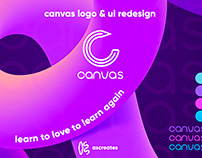 Canvas Logo & UI Redesign
