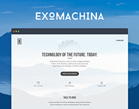 ExoMachina - AI and Machine Learning Conference