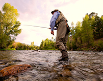 Fly Fishing In Lake City, Colorado