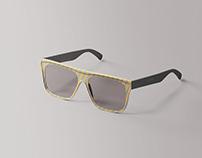 Simple Glasses Mockup