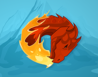 Fire Dragon | illustration