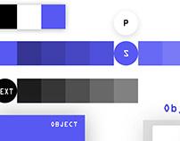 Mobile App. Color Palette