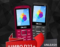 DOUZO JUMBO D21+ Product Graphics