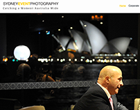 Sydney Event Photography Website