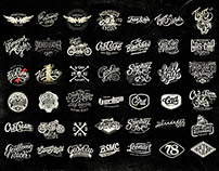 A compilation of Motorcycle logos by Alex Ramon Mas