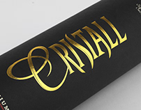 Tube vodka Cristall 2001