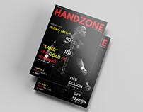 Handzone Magazine Cover design Concept