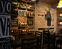 MONTADITOS / Diseño restaurante