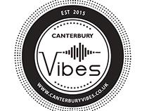 Graphic Design Work for Canterbury Vibes (Portfolio)