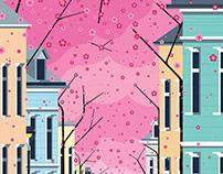 Altstadt, Bonn ft. Cherry Blossom