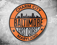 Baltimore Vinyl Sticker