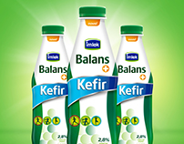 Imlek Balans+ Kefir | Packaging design