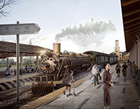 Old Station Impression