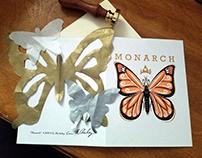Monarch Hand-Cut Card 2019
