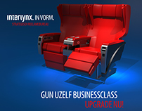 Gun uzelf businessclass!