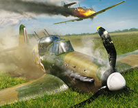 Battle of Britain Combat Archive Vol.7 illustrations