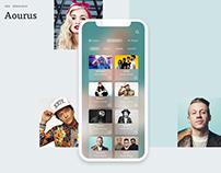 Aourus Music Player Concept