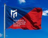 Логотип и айдентика «Молодёжного правительства»