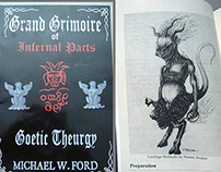 GRAND GRIMOIRE OF INFERNAL PACTS - by Michael W. Ford