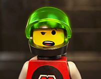 Lego Minifig M:Tron Animation