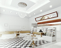 Visualisation of Pastry Shop in Greece