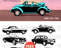 Car Shapes   Brushes, Vectors and PNG