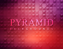 12 Pyramid Backgrounds - $3